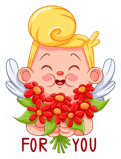Funny Kids Love Emoji messages sticker-8
