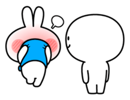 Cool Rabbit Family messages sticker-11