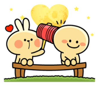 Cool Rabbit and Smiles messages sticker-5