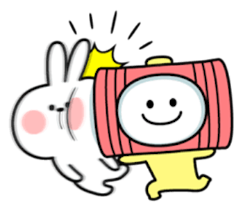Cool Rabbit and Smiles messages sticker-10