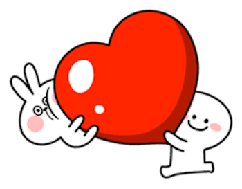 Cool Rabbit and Smiles messages sticker-6