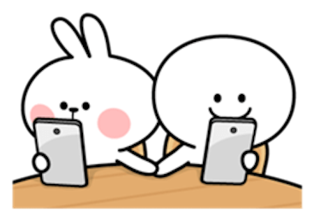Cool Rabbit and Friends messages sticker-11
