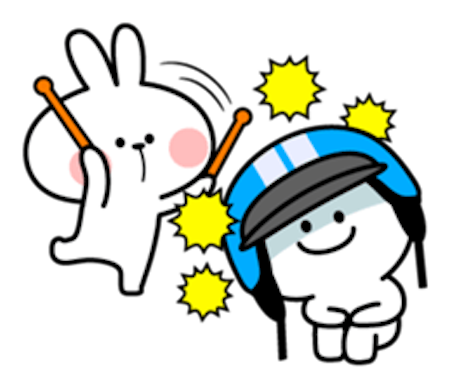Cool Rabbit vol 6 messages sticker-1