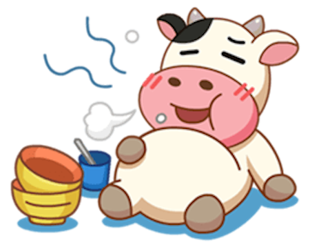 Milk Cow vol 2 messages sticker-4