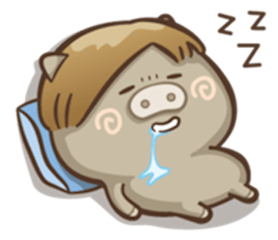 Little Pig Couple messages sticker-11