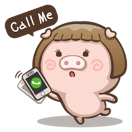Little Pig Couple messages sticker-4