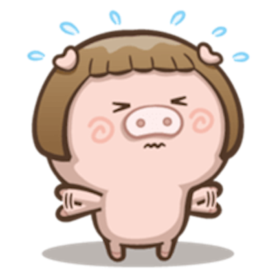 Little Pig Couple messages sticker-6