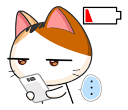 Lovely Kitty Cat vol 2 messages sticker-9