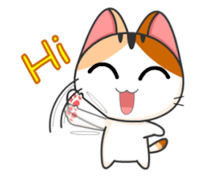 Lovely Kitty Cat vol 3 messages sticker-7