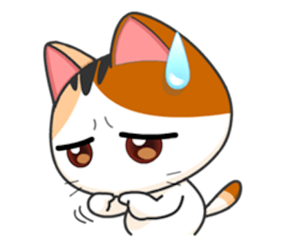 Lovely Kitty Cat vol 3 messages sticker-8