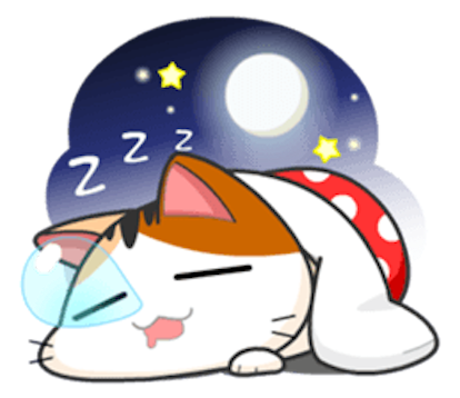 Lovely Kitty Cat vol 3 messages sticker-5