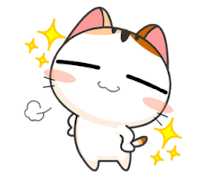 Lovely Kitty Cat vol 4 messages sticker-2