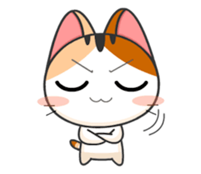 Lovely Kitty Cat vol 4 messages sticker-7