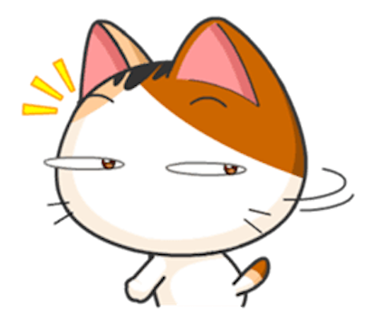 Lovely Kitty Cat vol 4 messages sticker-11