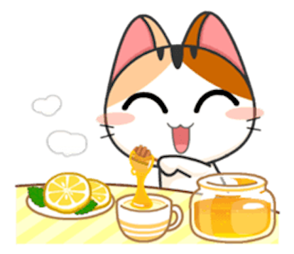 Lovely Kitty Cat vol 4 messages sticker-6