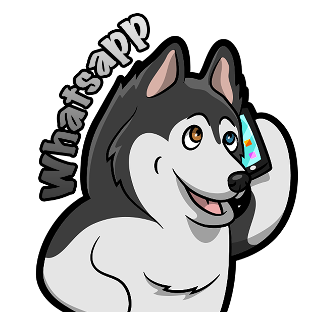Huskymoji - Husky Emoji & Stickers messages sticker-5