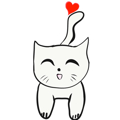 Chibi Cat Cat messages sticker-2