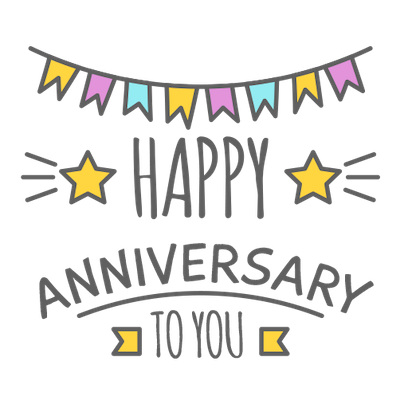 Anniversary Photo Frames Cards messages sticker-0