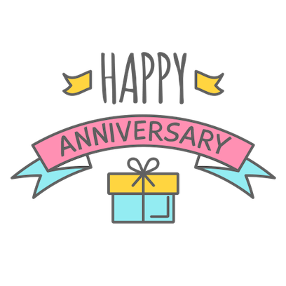Anniversary Photo Frames Cards messages sticker-5