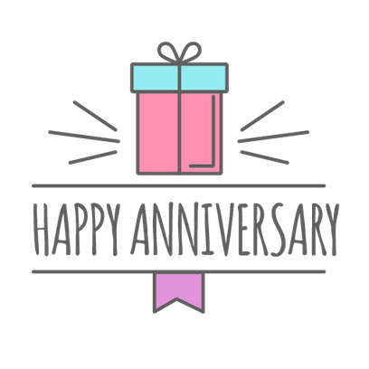 Anniversary Photo Frames Cards messages sticker-1