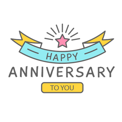 Anniversary Photo Frames Cards messages sticker-3