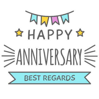 Anniversary Photo Frames Cards messages sticker-8