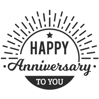 Anniversary Photo Frames Cards messages sticker-11