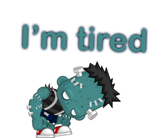 Say it as Zombie Sticker Pack messages sticker-7
