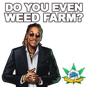 Wiz Khalifa's Weed Farm messages sticker-5