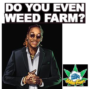 Wiz Khalifa's Weed Farm messages sticker-6