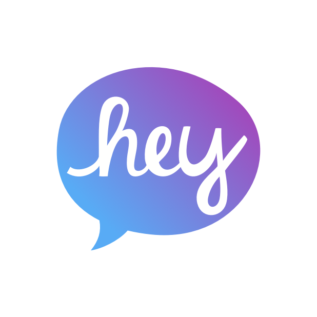 Heyo - Beautiful Handwritten Color Speech Bubble messages sticker-5