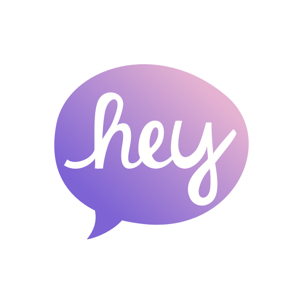 Heyo - Beautiful Handwritten Color Speech Bubble messages sticker-4