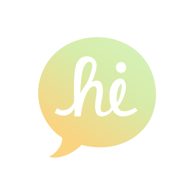 Heyo - Beautiful Handwritten Color Speech Bubble messages sticker-7