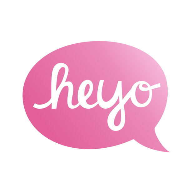 Heyo - Beautiful Handwritten Color Speech Bubble messages sticker-1