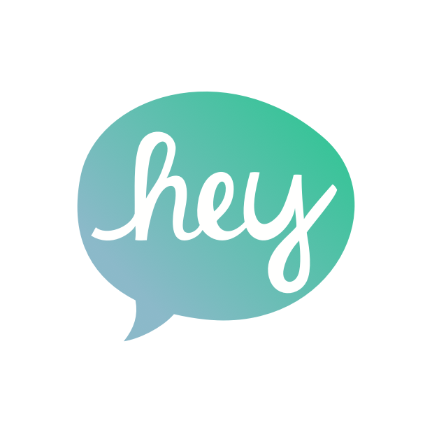 Heyo - Beautiful Handwritten Color Speech Bubble messages sticker-3