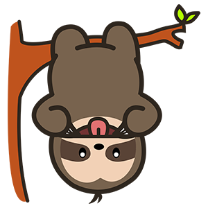 Cute Sloth Stickers messages sticker-2