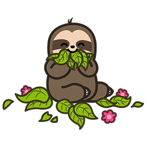 Cute Sloth Stickers messages sticker-4
