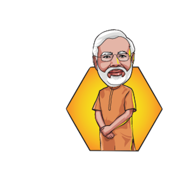 Narendra Modi Stickers messages sticker-5