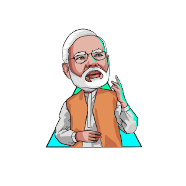 Narendra Modi Stickers messages sticker-3