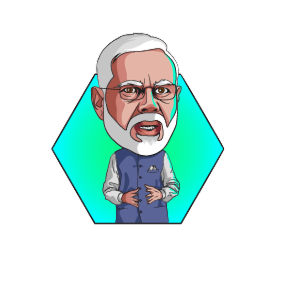 Narendra Modi Stickers messages sticker-2