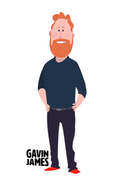 Gavin James Animated Stickers messages sticker-8