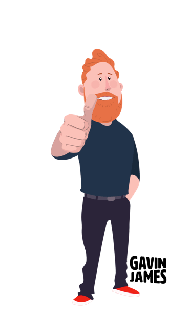 Gavin James Animated Stickers messages sticker-9