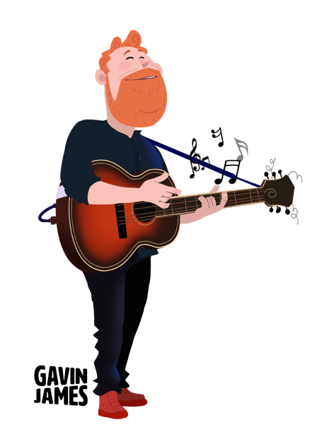 Gavin James Animated Stickers messages sticker-6