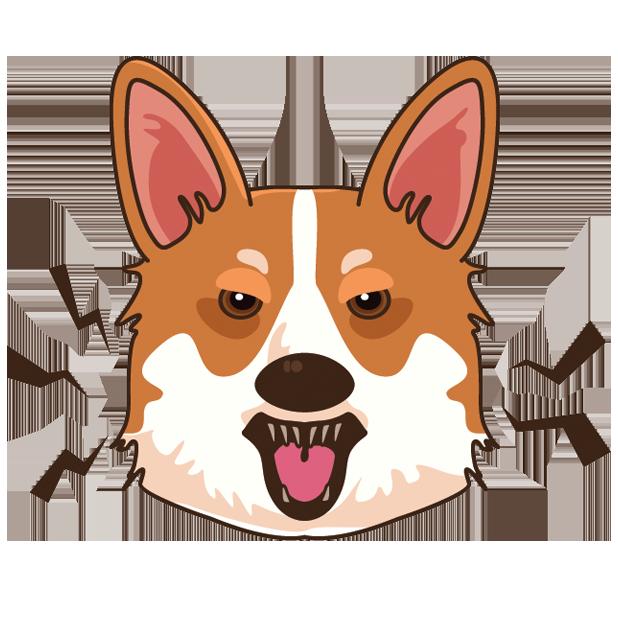 Corgioji - Corgi Emoji & Stickers messages sticker-7