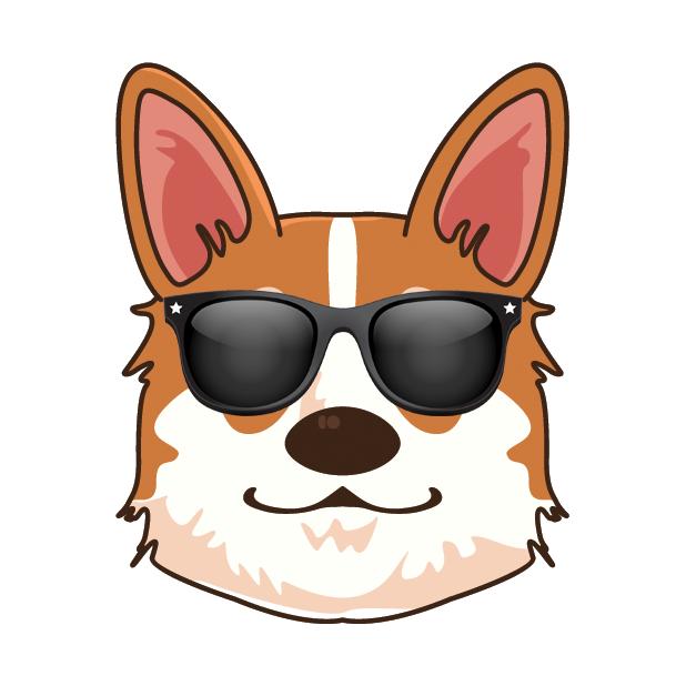 Corgioji - Corgi Emoji & Stickers messages sticker-9