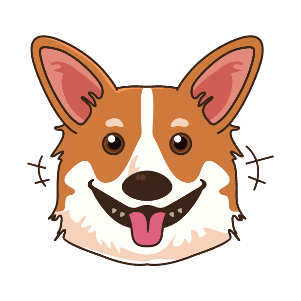 Corgioji - Corgi Emoji & Stickers messages sticker-1
