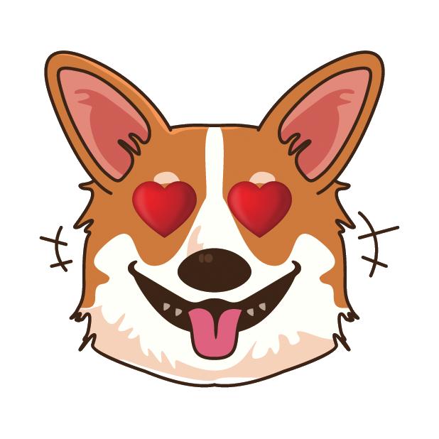 Corgioji - Corgi Emoji & Stickers messages sticker-11