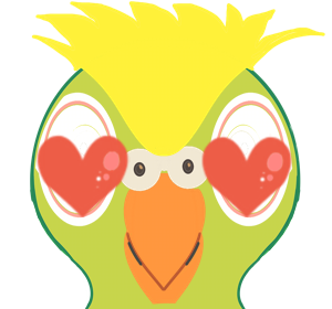 BillyStickers - Animated Parrot Fun Stickers messages sticker-4
