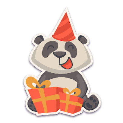 Panda - Stickers for iMessage. messages sticker-9