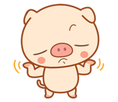 Little Pig Pinky messages sticker-0